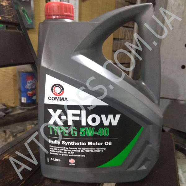 comma xflow 5w40 4l