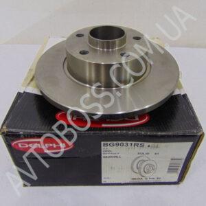 delphi BG9031RS задний диск